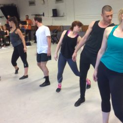 China Rehearsals Steam Heat
