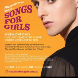 Songs for Girls Poster